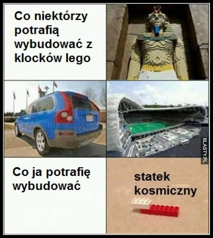 Co niektórzy potrafią wybudować z klocków lego