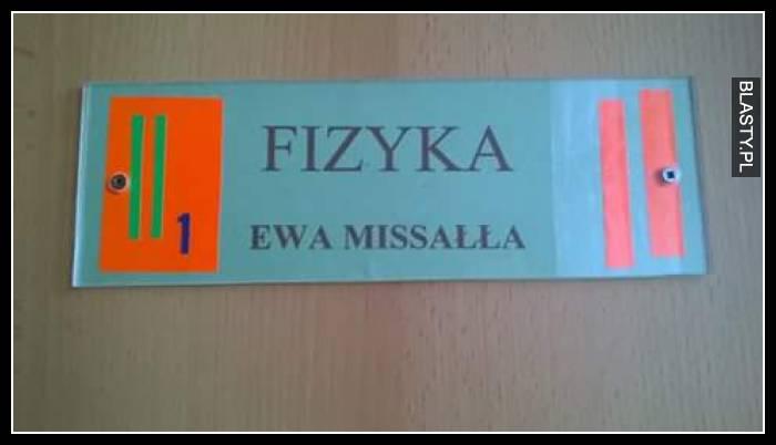Fizyka - Ewa Missała
