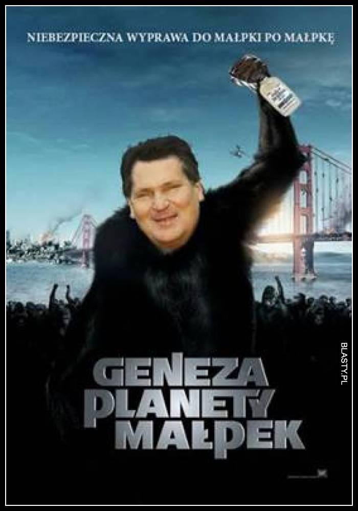 Geneza planety małpek
