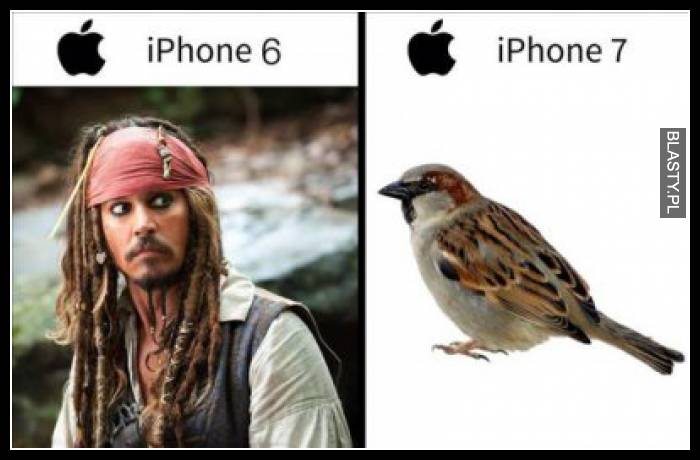 Iphone 6 vs Iphone 7 - Jack Sparrow