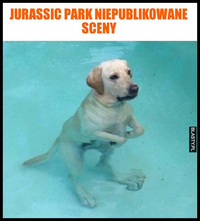 Jurassic Park niepublikowane sceny