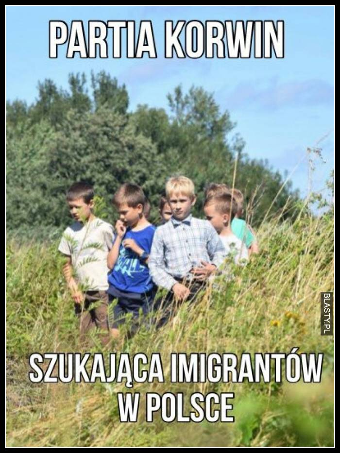Partia Korwin szukająca imigrantów w Polsce