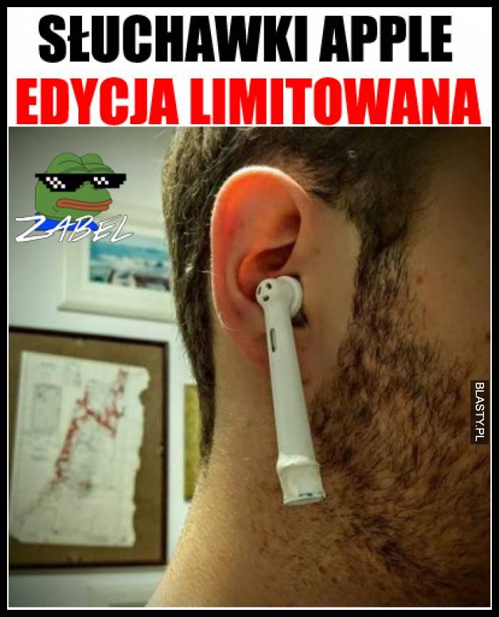 Słuchawki apple edycja limitowana
