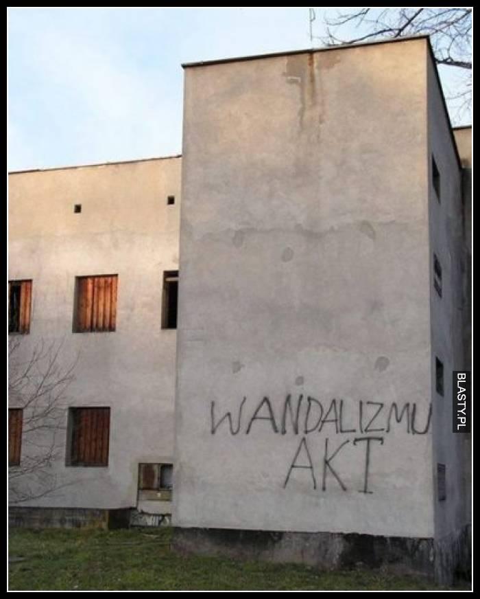 Wandalizmu akt