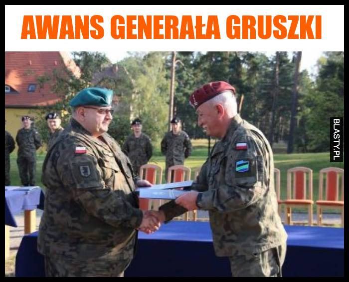 Awans generała gruszki