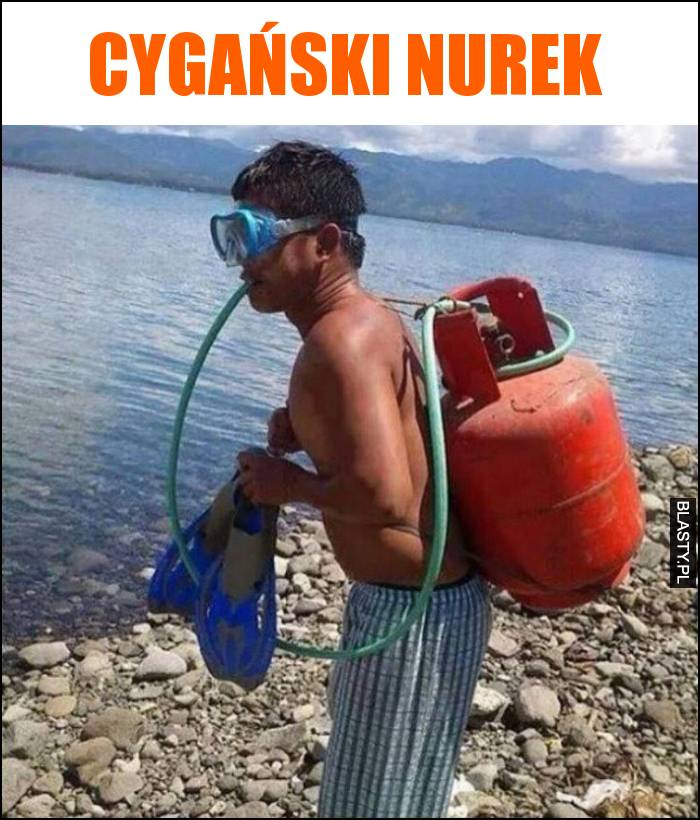 Cygański nurek