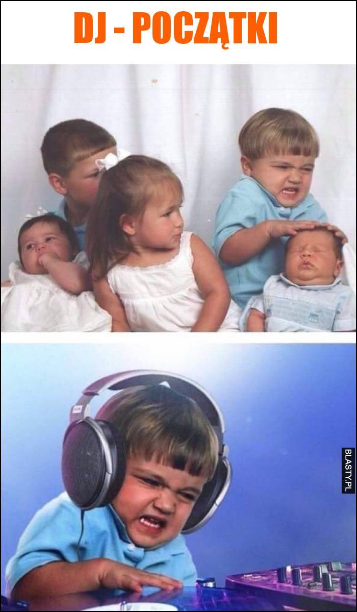 DJ - początki