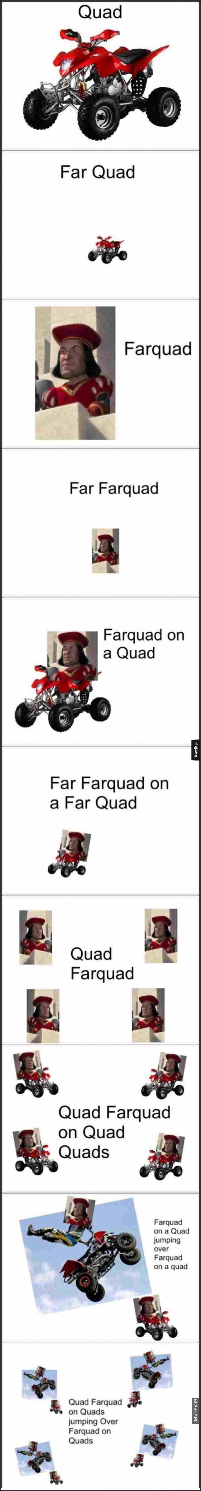 Far farquad on far quad