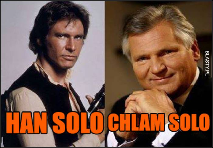Han Solo vs Chlam Solo