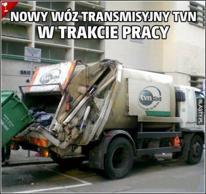 Nowy wóz transmisyjny tvn