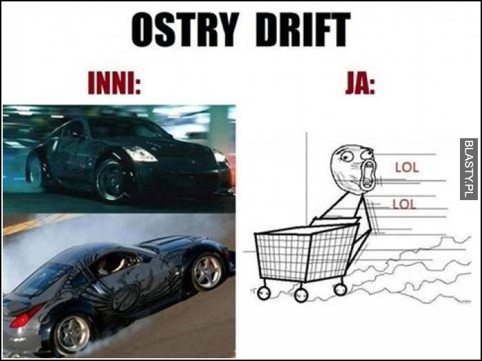 Ostry drift ja vs inni