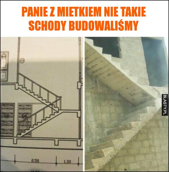 Panie z Mietkiem nie takie schody budowaliśmy