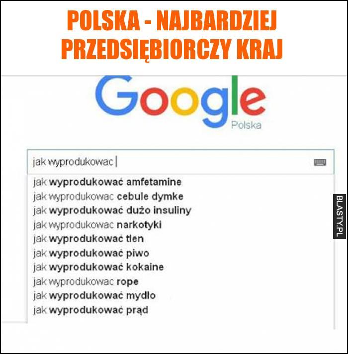 Polska - najbardziej przedsiębiorczy kraj