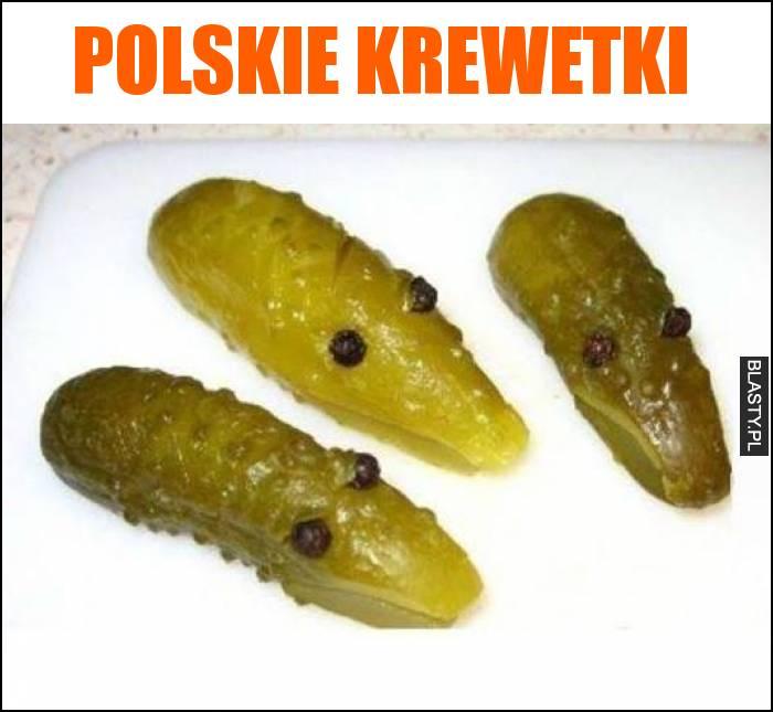 Polskie krewetki