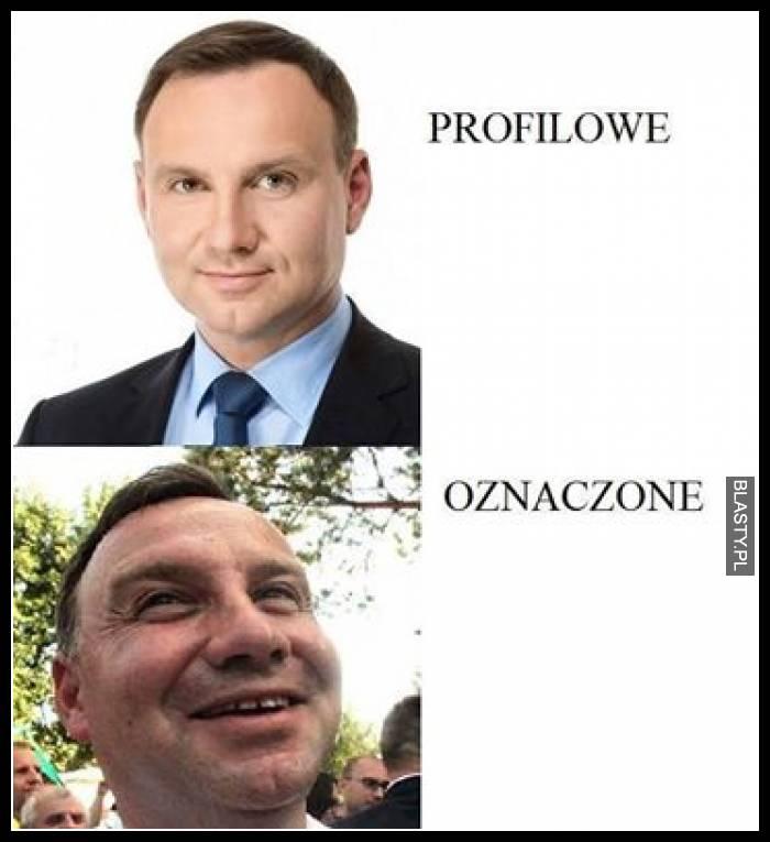 Profilowe vs oznaczone