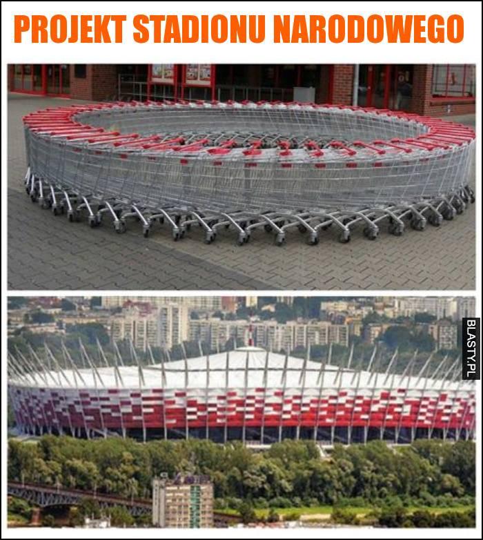 Projekt stadionu narodowego
