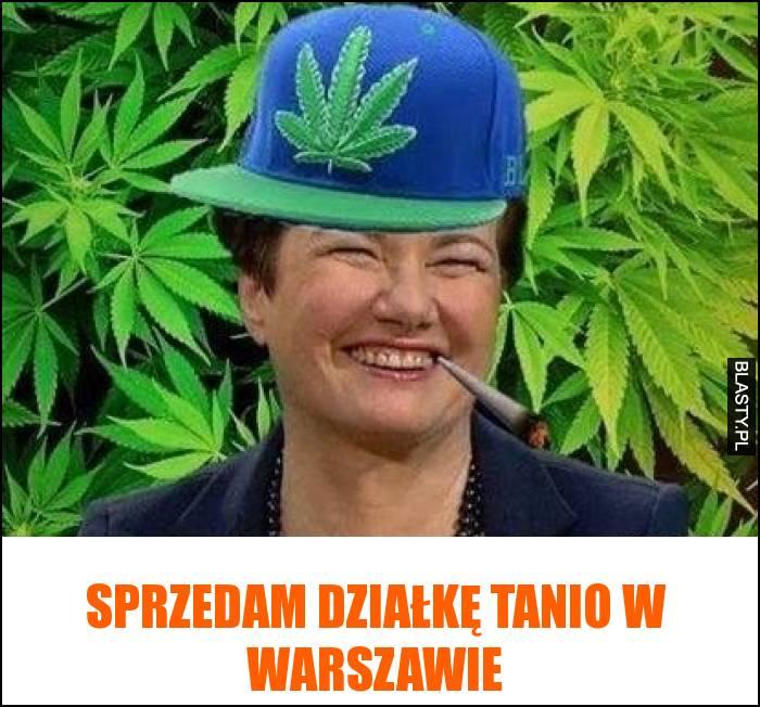 Sprzedam działkę tanio w Warszawie