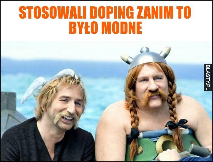 Stosowali doping zanim to było modne