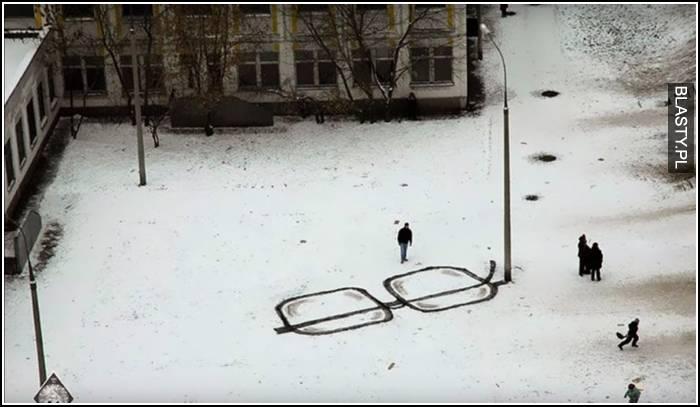 Zimowy art