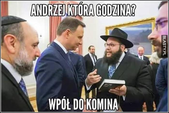 Andrzej, która godzina ?