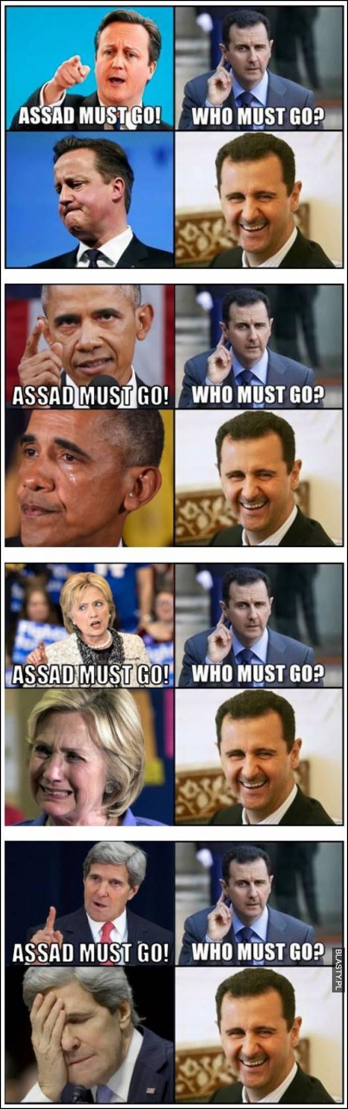 Assad must go