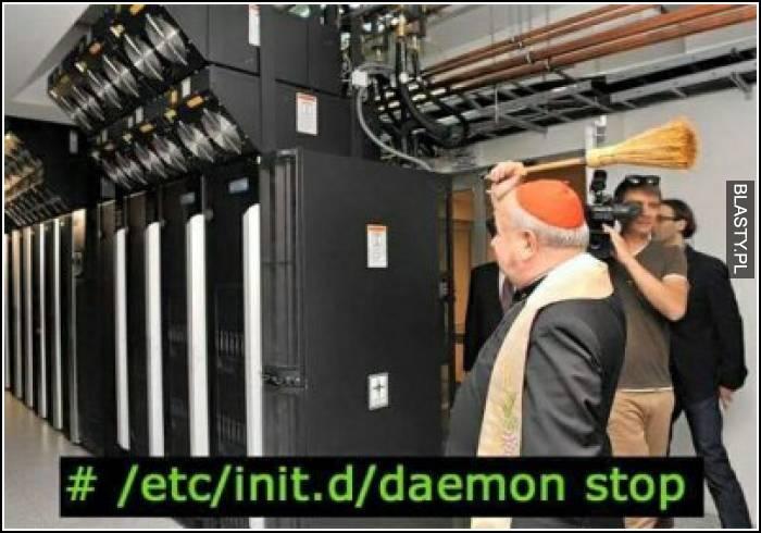daemon stop