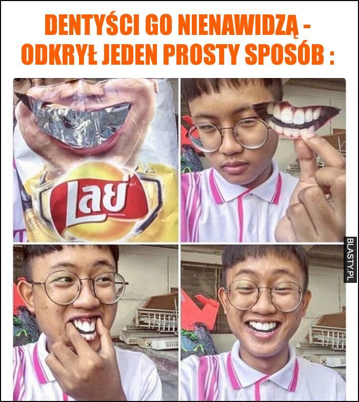 Dentyści go nienawidzą - odkrył jeden prosty sposób