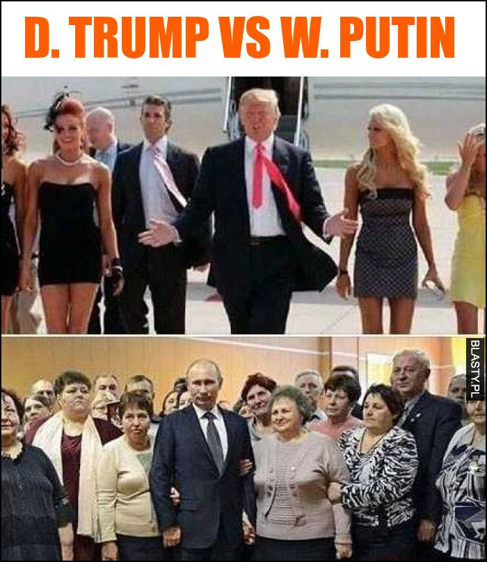 Donald Trump vs Wladimir Putin