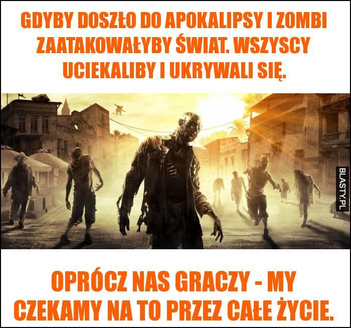 Gdyby doszło do apokalipsy i zombi zaatakowałyby świat