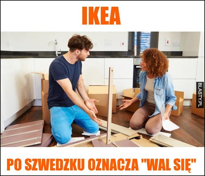 ikea po szwedzku oznacza