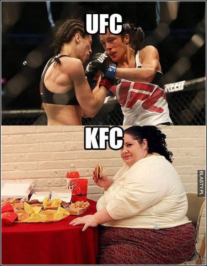 KFC waga ciężka