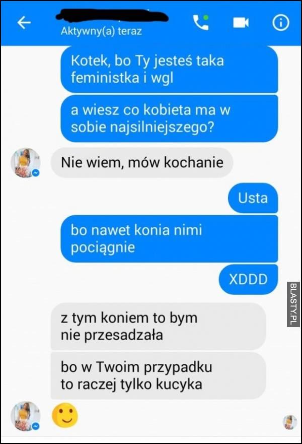 Kotek bo ty jesteś feministka