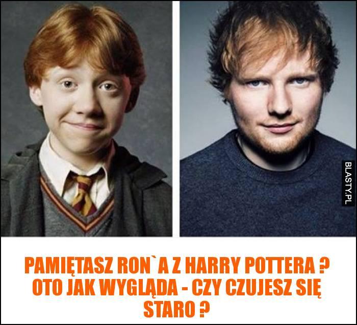 Pamiętasz Ron`a z harry pottera ? Oto jak wygląda - czy czujesz się staro ?