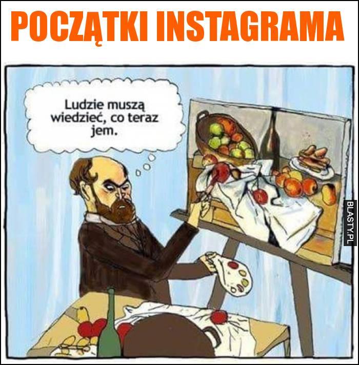 Początki instagrama