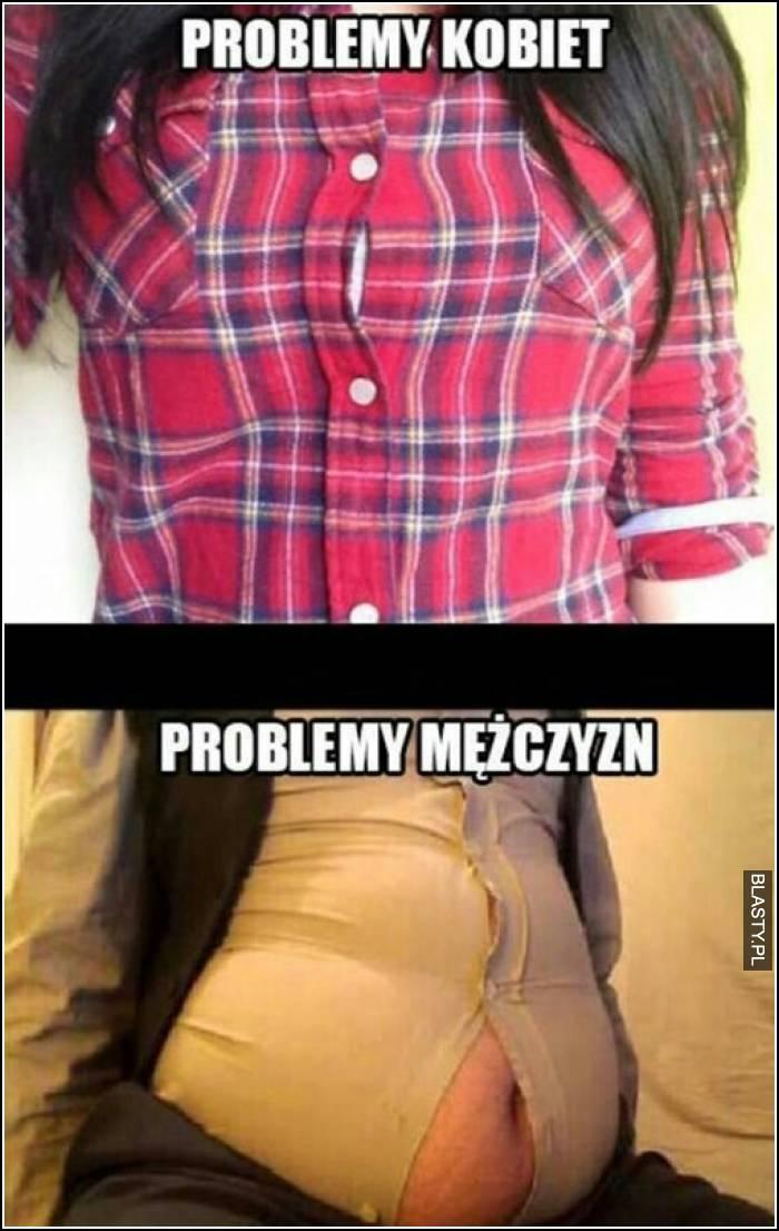 Problem kobiet vs problem mężczyzn