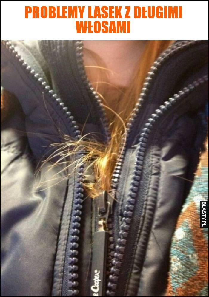 Problemy lasek z długimi włosami