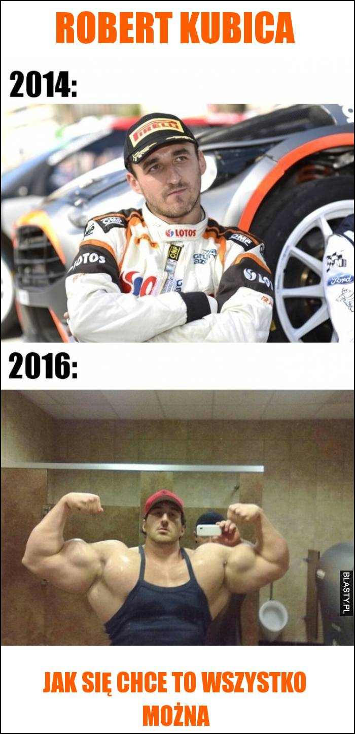 Robert kubica 2014 vs 2016