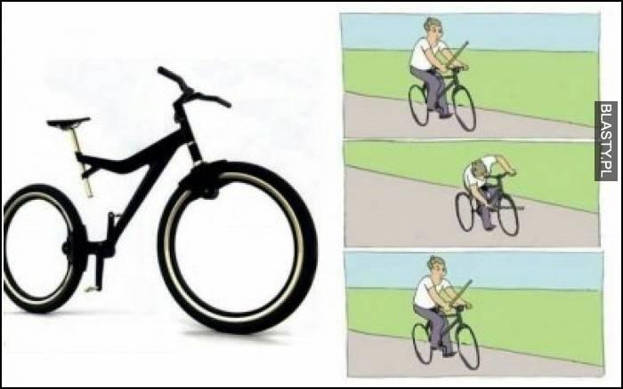 Rower bez szprych