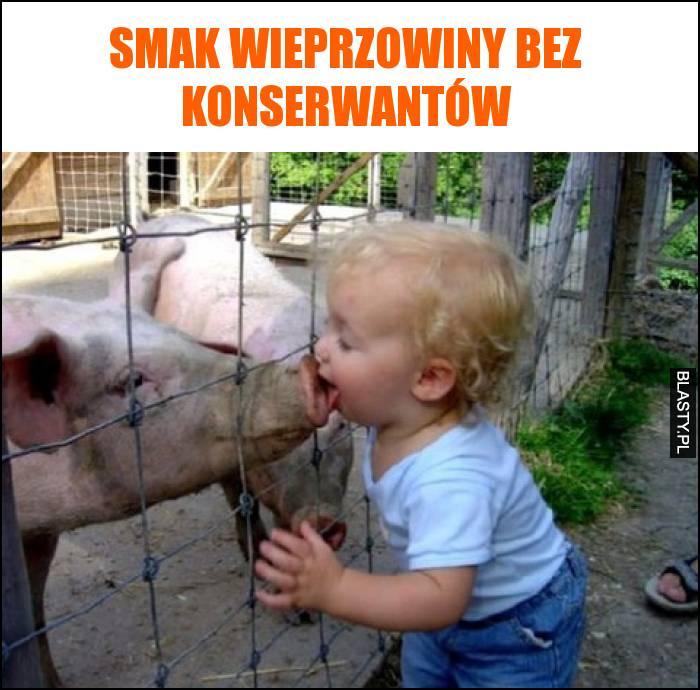 Smak wieprzowiny bez konserwantów