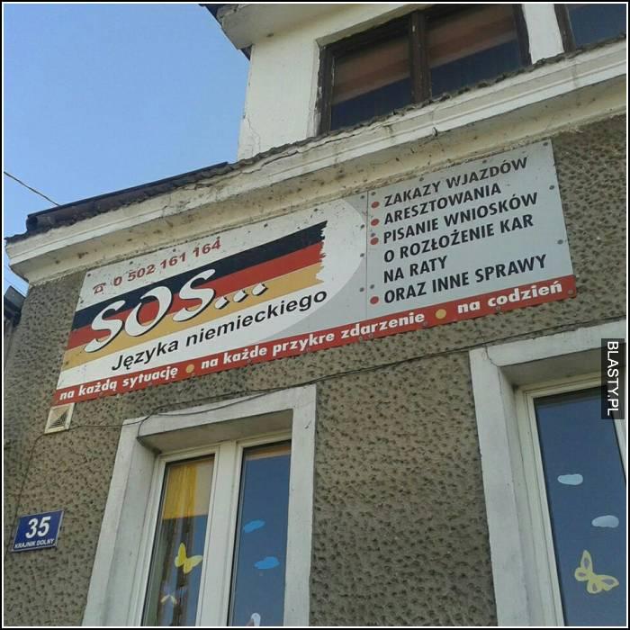 SOS języka niemieckiego