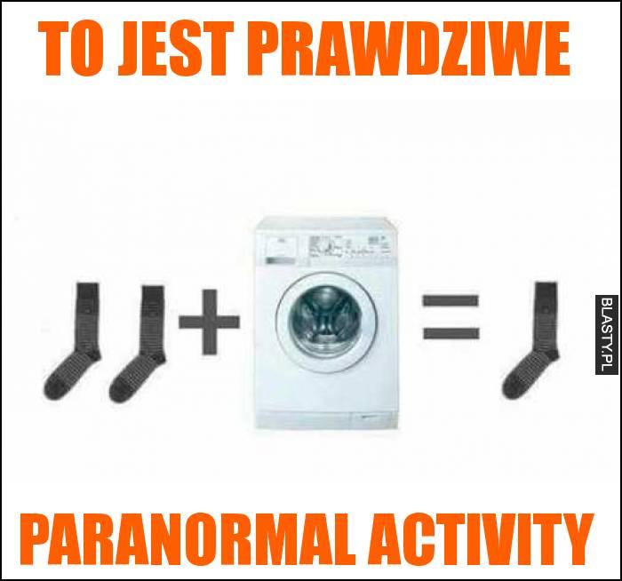 to jest prawdziwe Paranormal activity