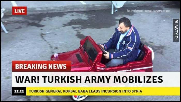 Turkish army mobilization