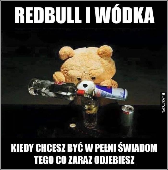 Tylko redbull i wódka