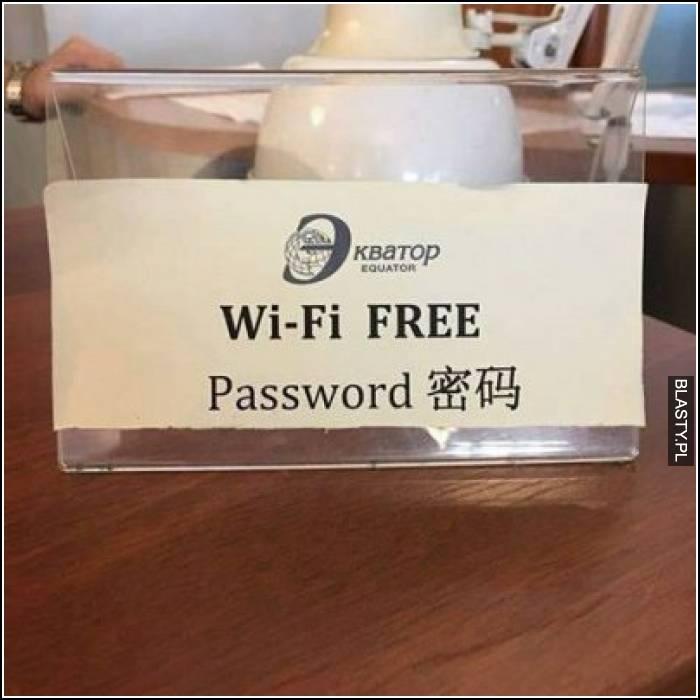 Wi-fi free password
