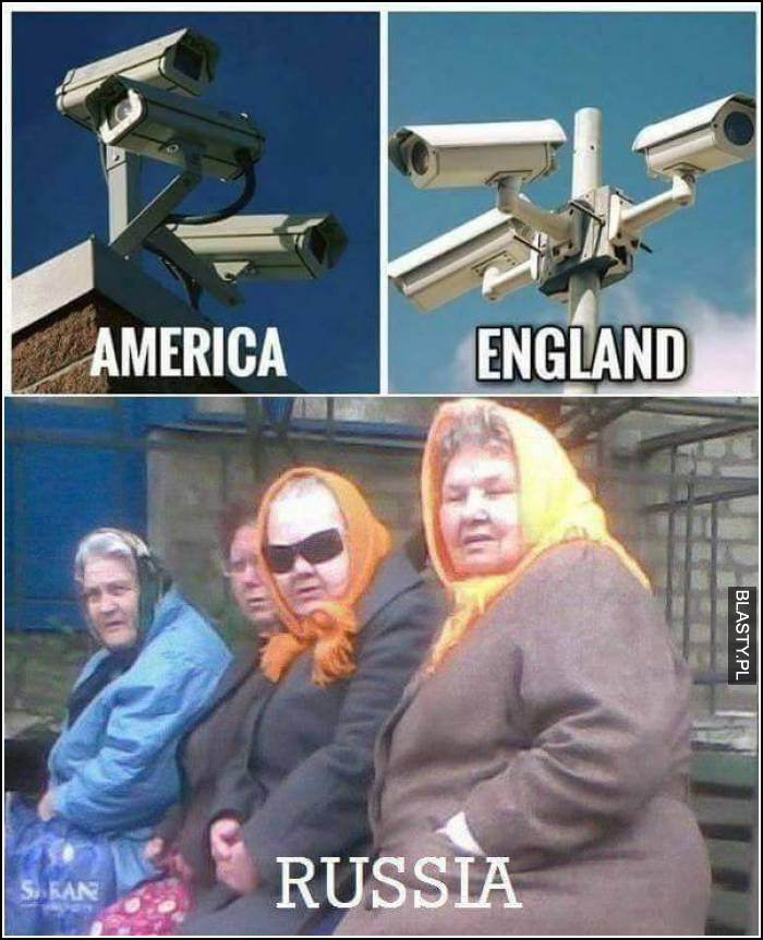 America , England and Russia