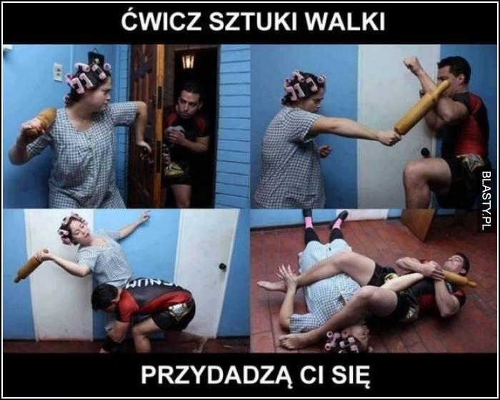 ćwicz sztuki walki