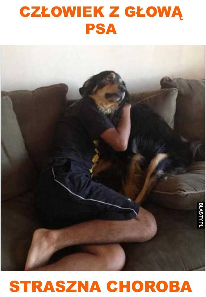 Człowiek z głową psa