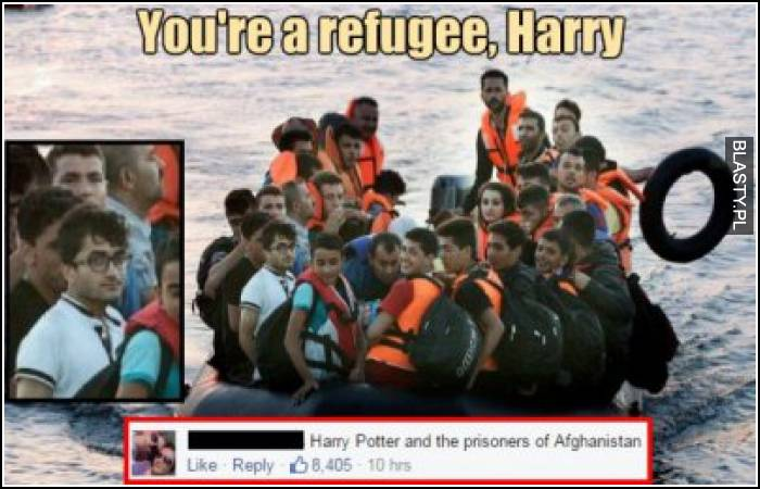 Harry potter refugee