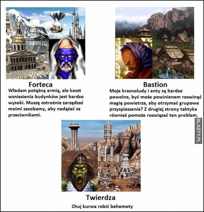 Heroes 3 forteca bastion twierdza