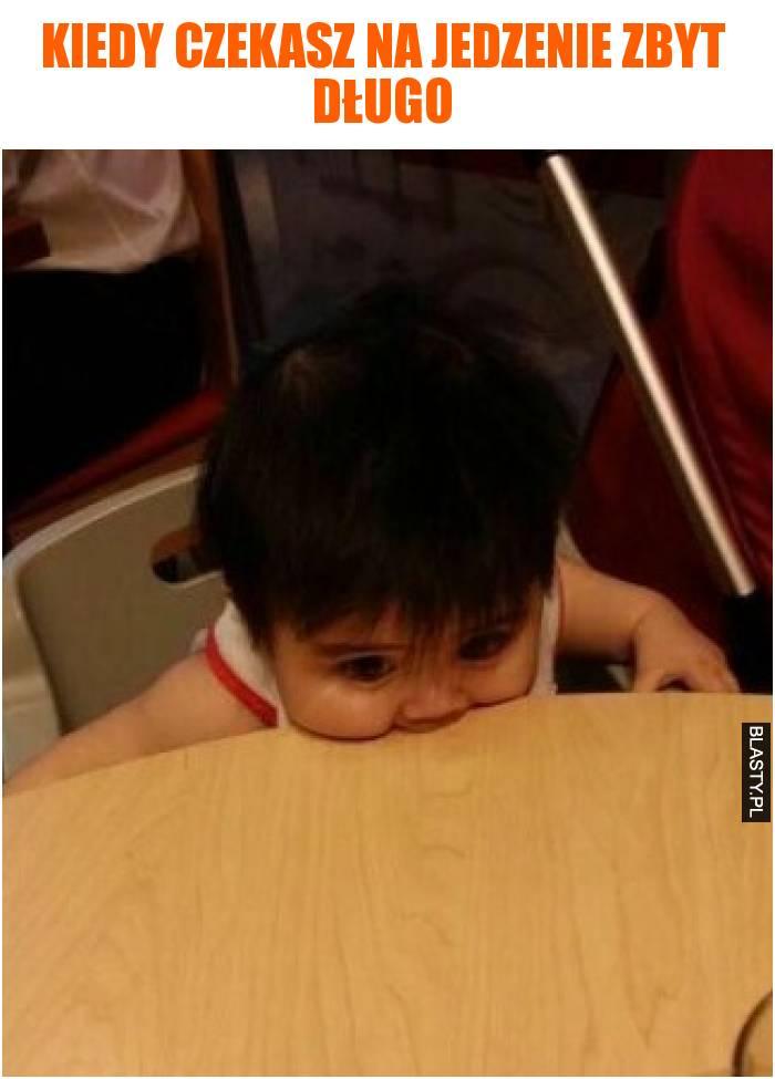 Kiedy czekasz na jedzenie zbyt długo